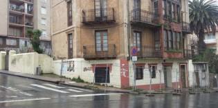 Muskiz arranca la demolición del inmueble número 8 de la calle Estación