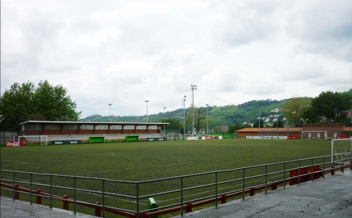 Bilbao estrena un campo de fútbol 7 en Mallona