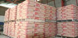 El descenso de la obra pública frena el consumo de cemento