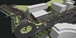 Arranca la reurbanización del entorno del nuevo ambulatorio de Amorebieta