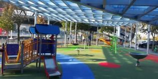 Bilbao inaugura la cubierta del Parque de Botica Vieja