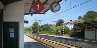 Adif consolida un talud ferroviario en Putxeta