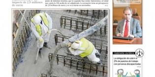 Ya ha salido el número de Noviembre del periódico Construcción