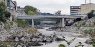 La Agencia Vasca del Agua estrena el puente de Urbi, en Basauri