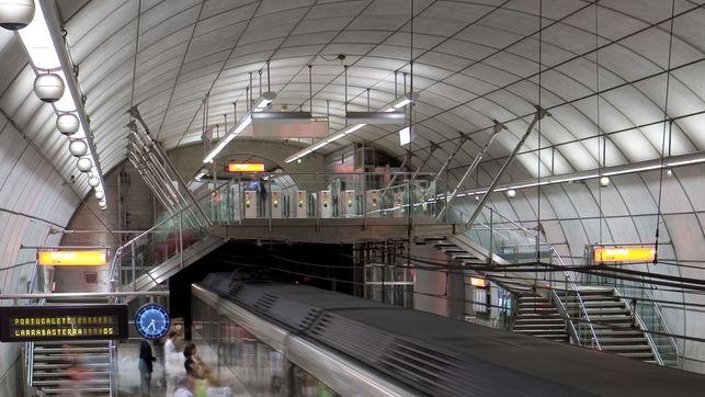Metro Bilbao linea 1