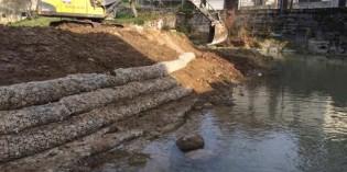 URA invierte 55.000 euros en la ampliación del cauce del Río Lea