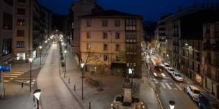 Eibar instala 187 luminarias LED en 15 calles