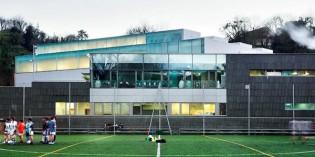 Tolosa construirá gradas cubiertas en el polideportivo Usabal