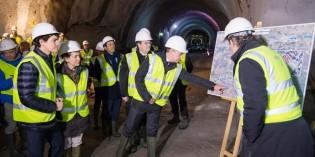 La línea 3 de Metro Bilbao estará lista en un año
