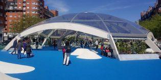 Miribilla estrena la zona de juegos cubiertos más grande de Bilbao