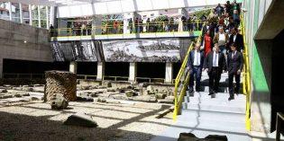 Bilbao cubre las ruinas de la Plaza Corazón de María