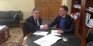 Visesa y Eibar acuerdan la regeneración del barrio de Txonta