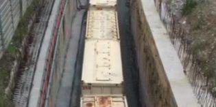 En funcionamiento la circulación ferroviaria por debajo de Irala