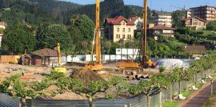 URA renueva un tramo de la conducción de abastecimiento de agua a Bermeo