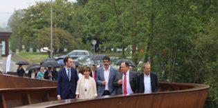Donostia estrena la nueva pasarela de Miramón