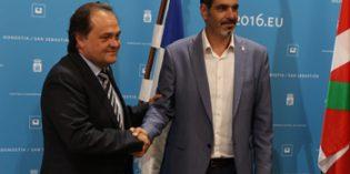 Anoeta Kiroldegia y la Real Sociedad acuerdan la ampliación del estadio