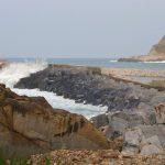 Lakua reforzará en septiembre el dique del puerto de Zumaia