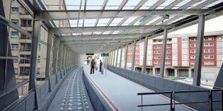 ETS retoma las obras de la estación de trenes de Ermua