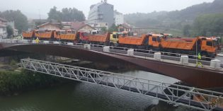 Mañana se abre al tráfico el nuevo puente de Martutene.