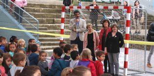 Donostia estrena el patio cubierto del colegio Altza San José de Calasanz