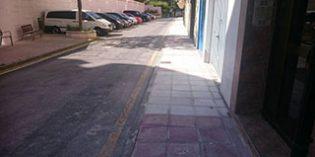 Muskiz ejecuta obras de renovación en la calle de La Magdalena