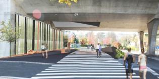 Irun aprueba el proyecto para urbanizar el paso peatonal del puente de la Avda. Iparralde