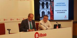 Bilbao invertirá 3 millones de euros en diversas obras de mejora de once barrios