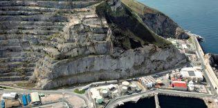 Arrancan las obras de estabilización de la antigua cantera de Punta Lucero