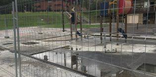 Galdakao cubrirá la zona de juegos infantiles de Urreta