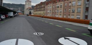 Adif finaliza la reparación del parking de la estación de Bilbao