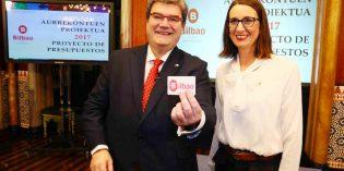 Bilbao presenta unos presupuestos de 527,9 millones para 2017