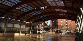 Sestao mejora la iluminación del colegio público Kueto