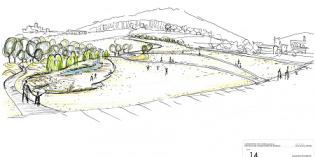 Azpeitia construirá un gran parque entre las Esclavas e Ikasberri