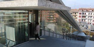 Irun estrena dos ascensores entre Luis Mariano y Artaleku