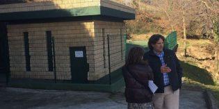 Udal Sareak acondiciona el depósito de aguas de San Juan