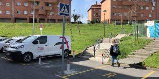 Abanto-Zierbena mejorará la seguridad vial en el colegio El Casal