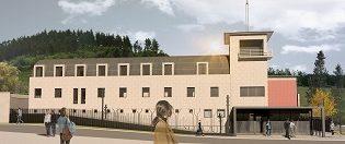 Comienza la reforma de la comisaría de Ondarroa