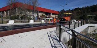 URA abre al tráfico el nuevo puente de Fadura