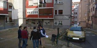 Sestao inicia la reurbanización del Grupo Francisco Llaseras.