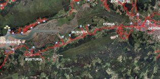 URA licita las obras del tramo Gernika-Busturia del colector de la ría de Mundaka