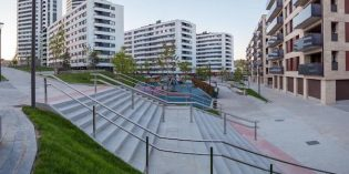 Acaban las obras de urbanización del entorno del parque de Garellano