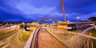 Barakaldo licita la reforma de la pasarela peatonal de Gurutzeta