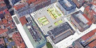 Vitoria reformará la plaza Santa Bárbara y su entorno