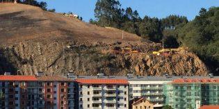 Bizkaia aportará 3 millones de euros más para las obras de la ladera de Kamiñalde