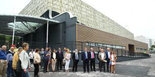 Bilbao inaugura la cubierta en el Frontón de Plaza Azoka en Zorrotza