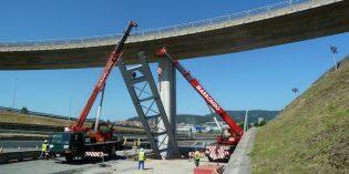 Las obras del enlace de Derio estarán terminadas en septiembre