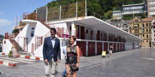 Presentado el proyecto para el edificio de Portaaviones del puerto de Donostia
