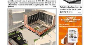Este lunes sale el número de julio del periódico Construcción!!!.