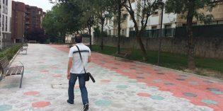 Nuevo aspecto parque de Mirabueno tras una inversión de 200.000 euros