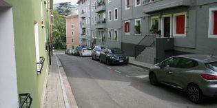 Tolosa inicia las ampliación de aceras en Bizkaia kalea